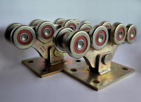 Роликові опори для відкатних воріт (метал посилений)