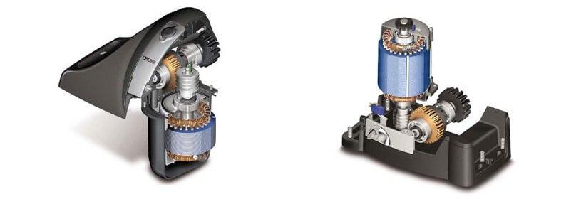 Двигатель ворот bx1200 штакетник ral 8017