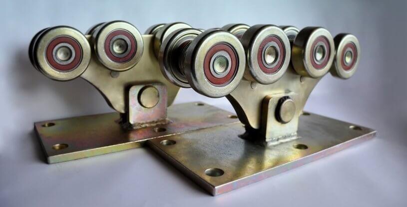Комплект для відкатних воріт до 1200кг (метал посилений)