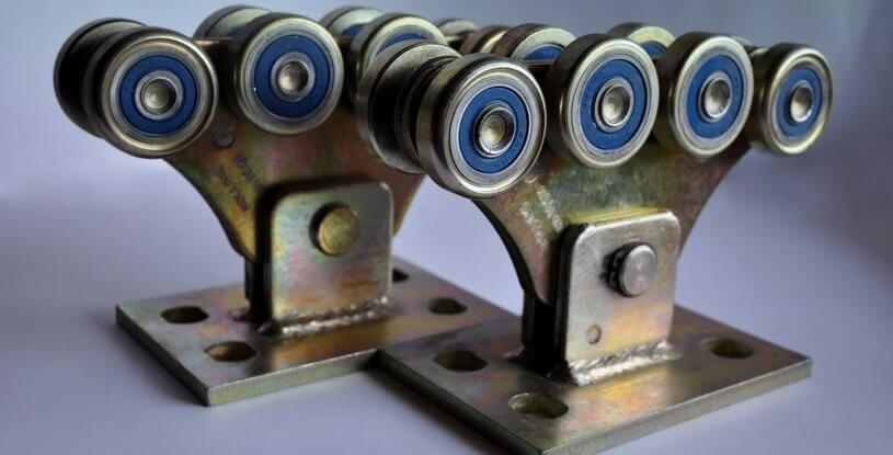 Комплект для відкатних воріт до 500кг (метал посилений)