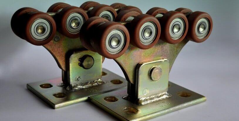 Комплект для відкатних воріт до 300кг (полімер посилений)