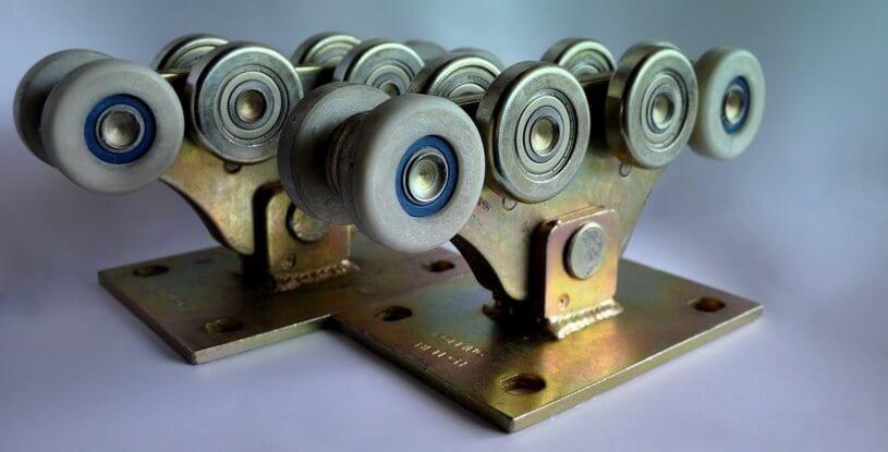 Комплект для відкатних воріт до 700кг (металополімер посилений)