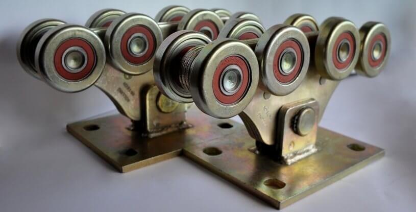 Комплект для відкатних воріт до 800кг (метал посилений)