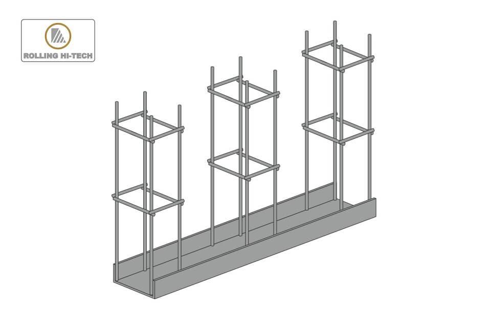 Відкатні ворота: закладна