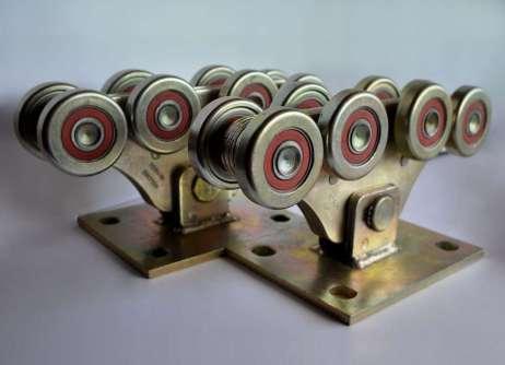Роликові опори до 800кг (метал посилений)