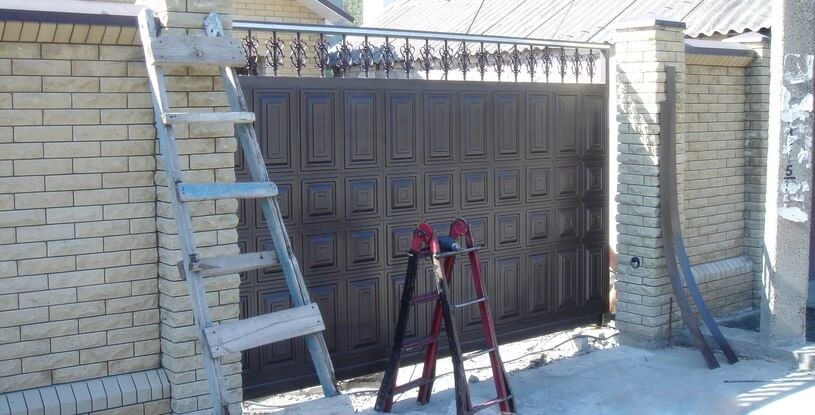 Відкатні ворота фільончасті