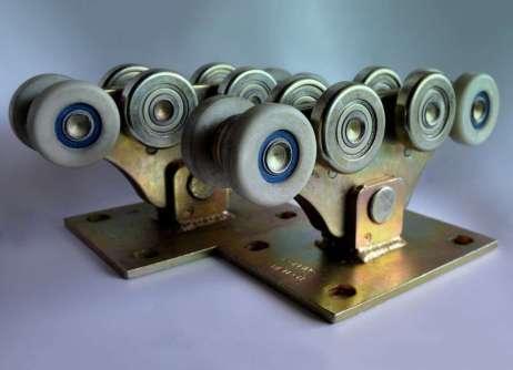 Роликові опори до 700кг (металополімер посилений)