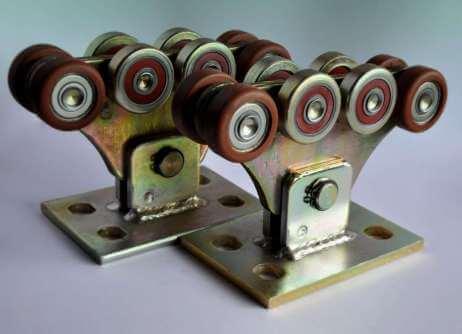 Роликові опори для відкатних воріт (металополімер посилений)