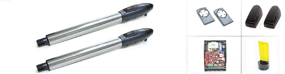 Автоматика для розпашних воріт Miller Technics