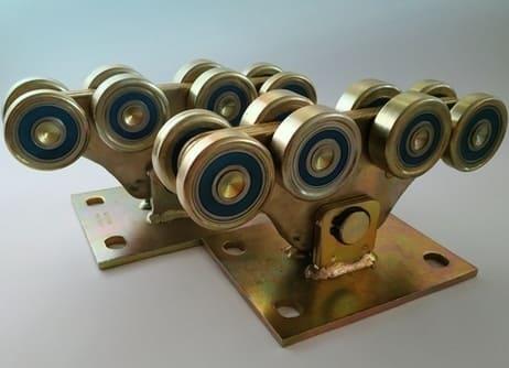 Роликові опори до 1000кг (метал посилений)