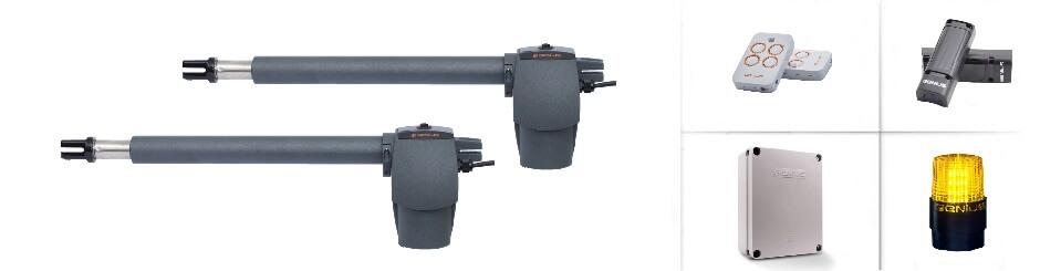 Автоматика для розпашних воріт FAAC GENIUS G-BAT 300