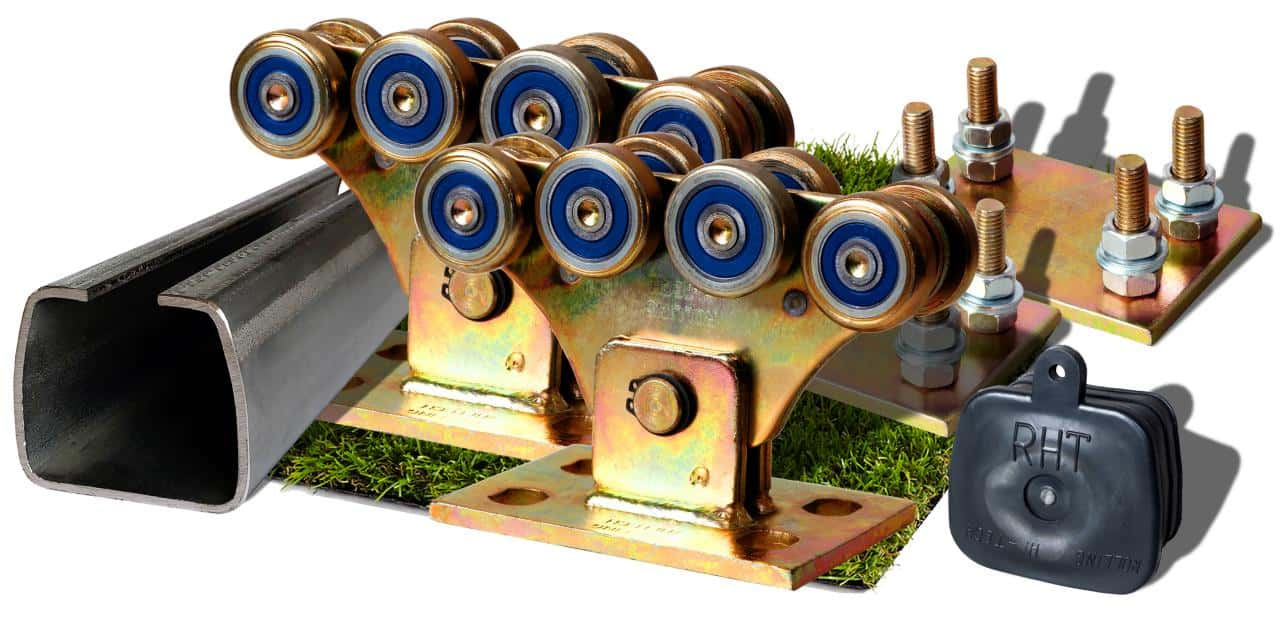 Посилений комплект фурнітури для відкатних воріт до 500кг