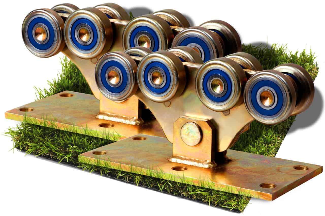 Роликові опори до 1200кг (метал посилений)