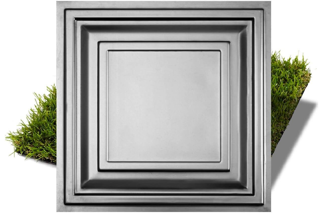 Металева фільонка 480x480мм