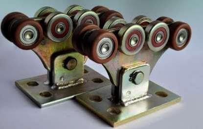 Роликовые опоры для откатных ворот (металлополимер усиленный)