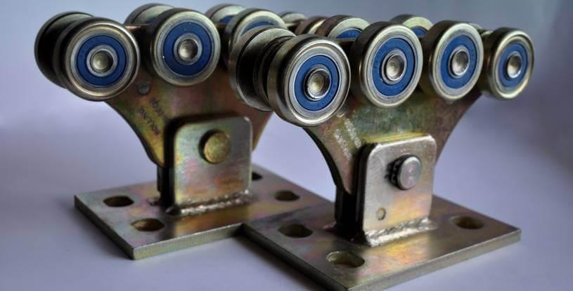 Комплект для откатных ворот до 500кг (металл усиленный)