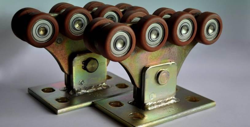 Комплект для откатных ворот до 500кг (полимер усиленный)