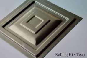 Металлическая филёнка 280x280мм
