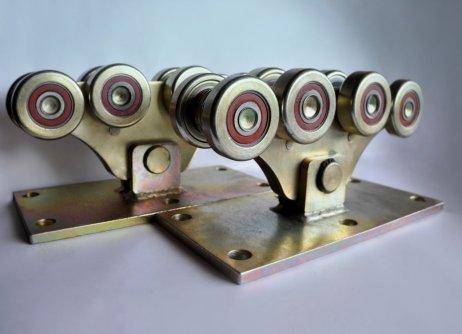 Комплект усиленной фурнитуры для откатных ворот до 1200кг