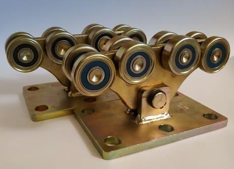 Комплект усиленной фурнитуры для откатных ворот до 1500кг