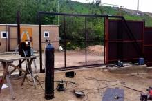 Откатные ворота «Rolling Hi-Tech»
